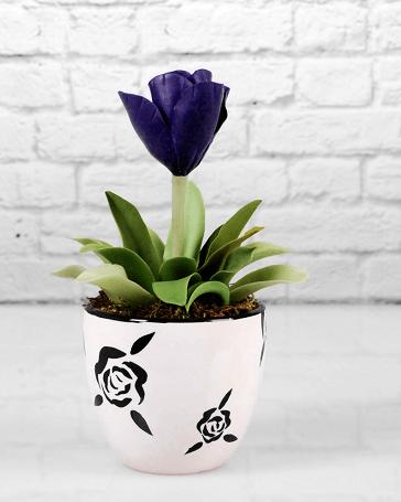 گلدان های طرح لاله