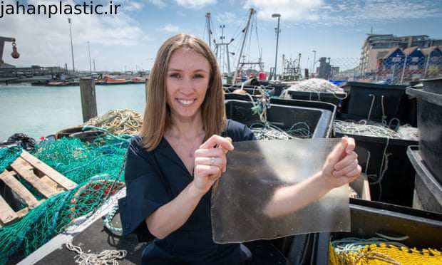 تولید پلاستیک از بقایای ماهی